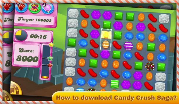 Casual Guide Candy Crush Puzzle Saga poster