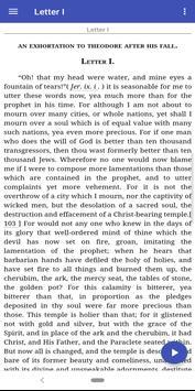 The Complete Works of St. John Chrysostom (Trial) screenshot 1
