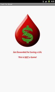 Cash For Blood poster