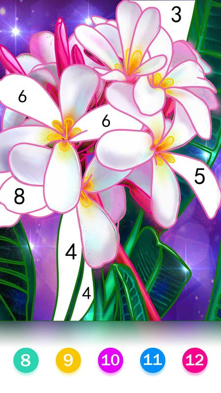 Paint by number - Relax Coloring Book for Free screenshot 2