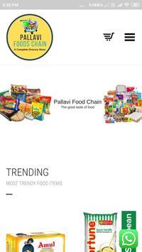 Pallavi Foods Chain screenshot 1