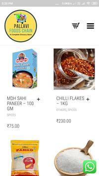 Pallavi Foods Chain screenshot 2