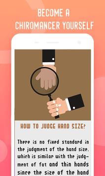 Palm Reader, Palmistry Tips poster