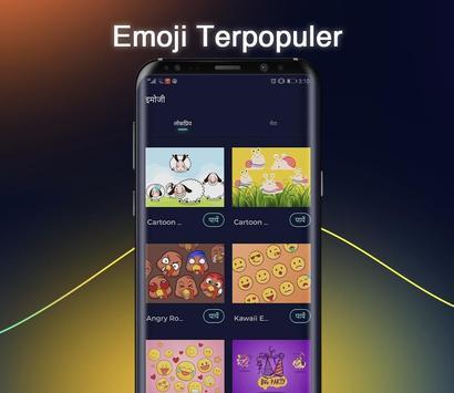 Cheetah Keyboard - Papan Ketik Emoji & Gif screenshot 2