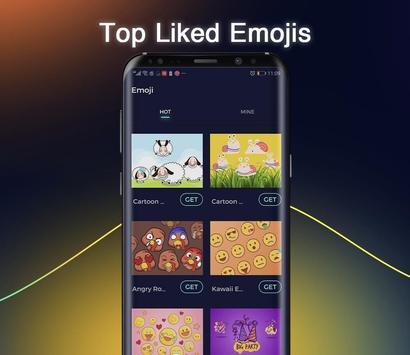 Cheetah Keyboard -   Emoji,Swype,DIY Themes screenshot 2