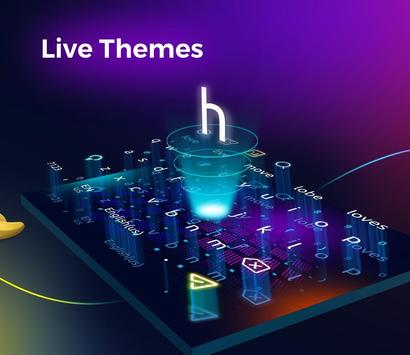 Cheetah Keyboard -   Emoji,Swype,DIY Themes screenshot 3