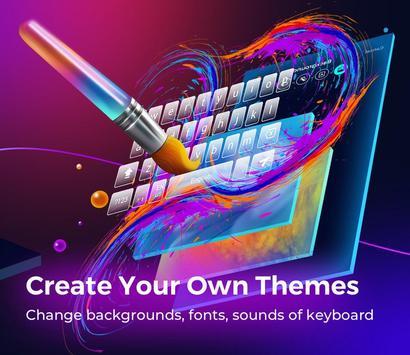 Cheetah Keyboard -   Emoji,Swype,DIY Themes screenshot 4
