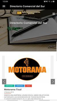 Directorio Comercial del Sur poster