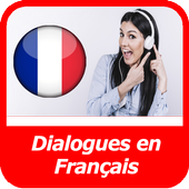 french conversations for beginners audio texte icon
