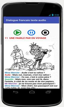 french conversations for beginners audio texte poster