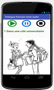 french conversations for beginners audio texte screenshot 1