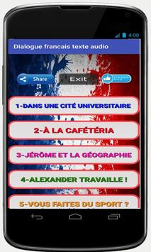 french conversations for beginners audio texte screenshot 2