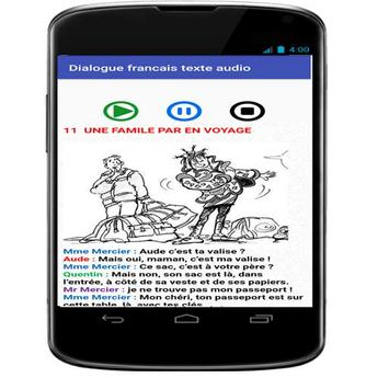 french conversations for beginners audio texte screenshot 7