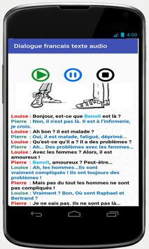 french conversations for beginners audio texte screenshot 5