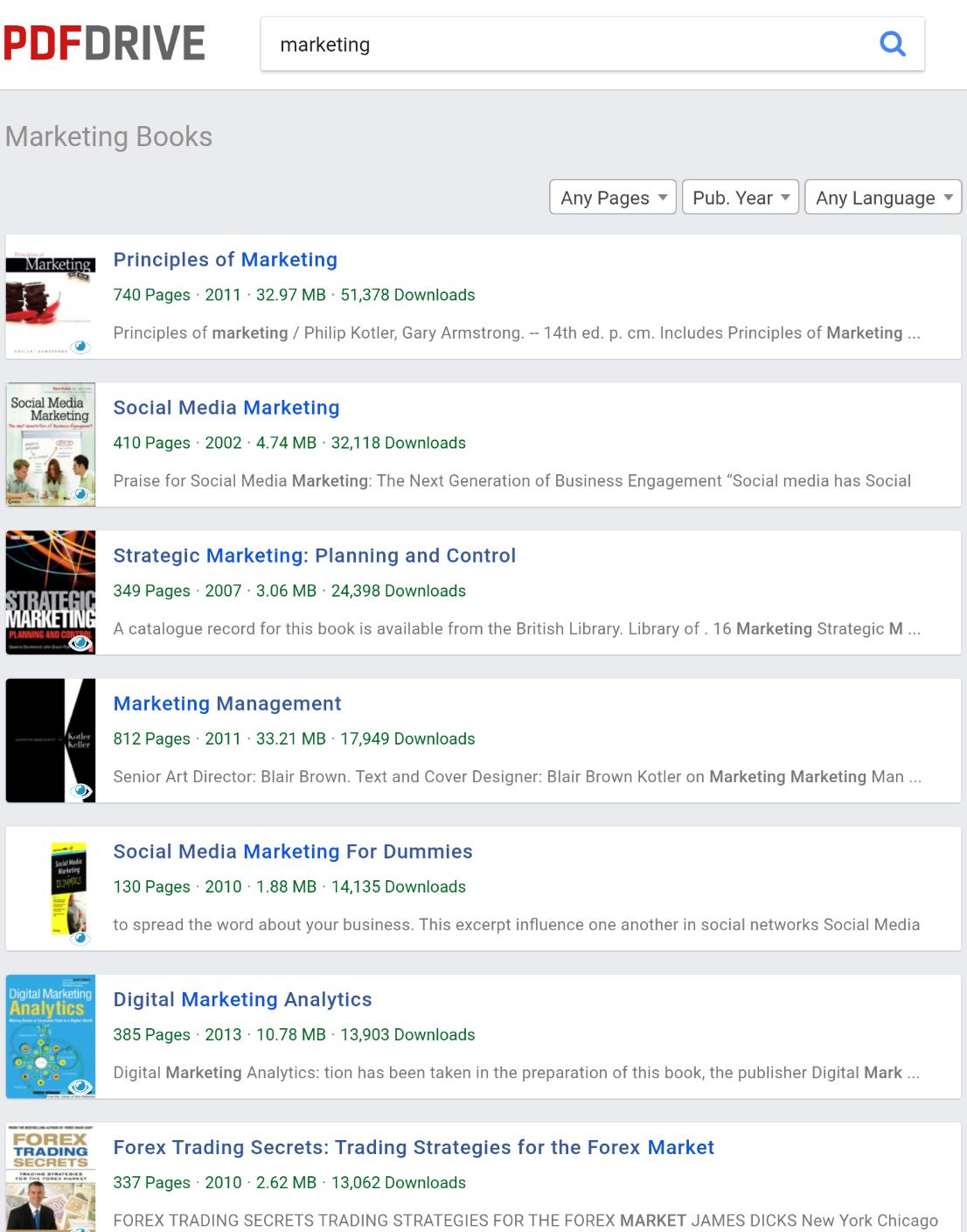 book downloads for free