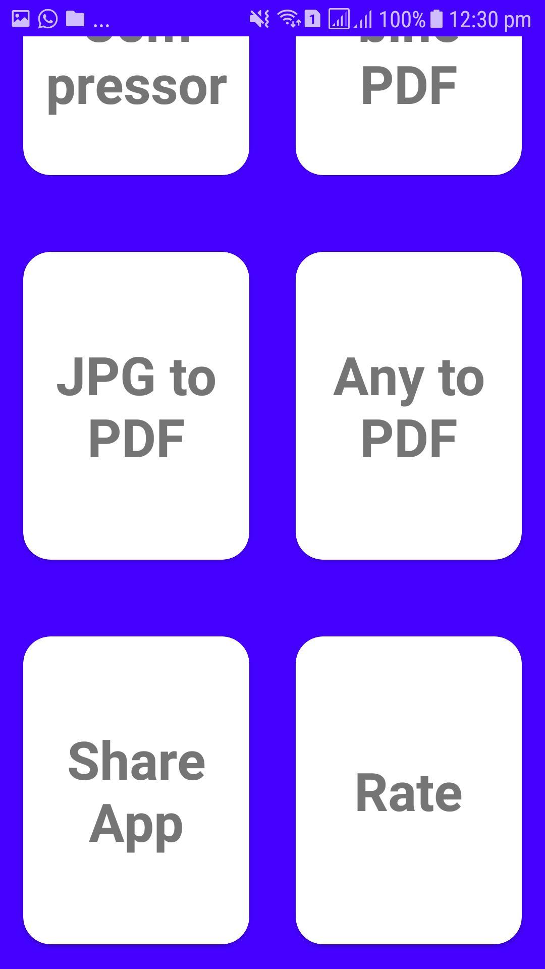 Lite PDF Tools(Pdf to Text, Doc, JPG, Merge, XPS) for ...