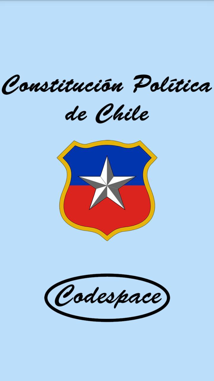 Constitución de Chile poster