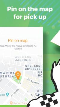 Carry: book taxi in Peru.Transport for easy travel poster