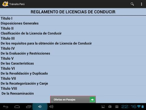 Transito Perú screenshot 9