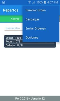 SIGOF Plus - Repartos screenshot 1