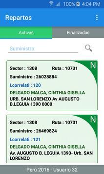 SIGOF Plus - Repartos screenshot 2