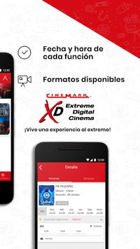 Cinemark captura de pantalla 1