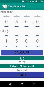 Calculadora IMC poster