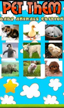 Pet Them: Baby Animals Edition screenshot 1
