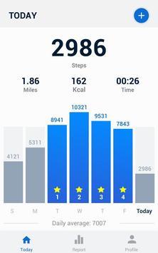 Pedometer - Hitung Langkah Gratis & Bakar Kalori screenshot 6