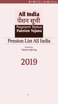 Pension List All India poster