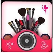 Virtual Makeup Camera icon