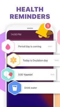 Period Tracker, Ovulation Calendar & Fertility app screenshot 3