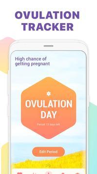 Period Tracker, Ovulation Calendar & Fertility app screenshot 1