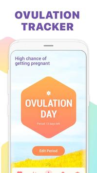 Period Tracker, Ovulation Calendar & Fertility app screenshot 1