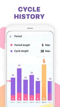 Theo dõi ngày hành kinh-Lịch rụng trứng & thai kỳ ảnh chụp màn hình 4