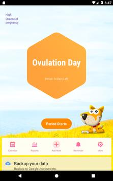 Period Tracker, Ovulation Calendar & Fertility app screenshot 8