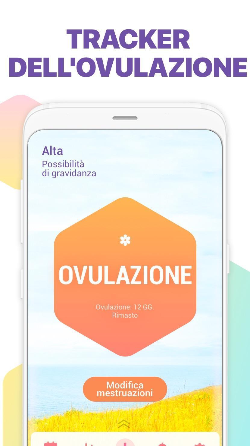 Calendario Dell Ovulazione.Calendario Mestruale Ovulazione E Gravidanza For Android