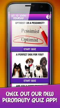Personality Tests and Quizzes : Who are you poster