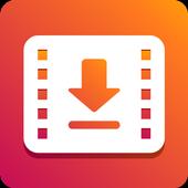HOT Video Downloader: video unduhan pribadi ikon