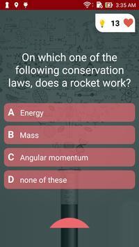 Physics Quiz screenshot 1