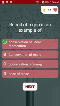 Physics Quiz screenshot 2