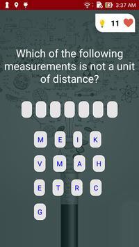 Physics Quiz screenshot 5