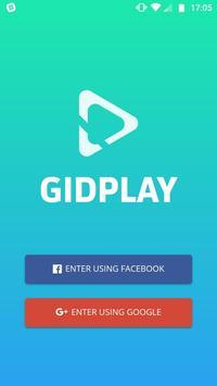 Gidplay poster