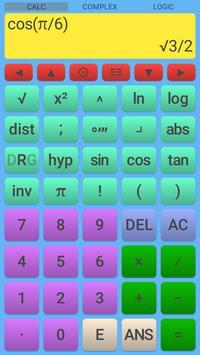 Scientific Calculator syot layar 2