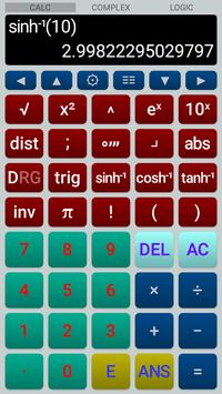 Scientific Calculator syot layar 3