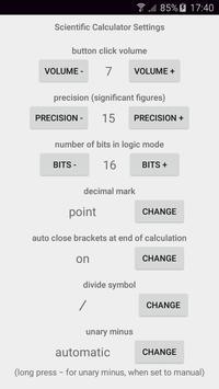 Scientific Calculator syot layar 6
