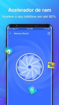 Telefone Limpo - limpeza de cache, acelerador imagem de tela 2