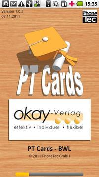 PT Cards BWL poster