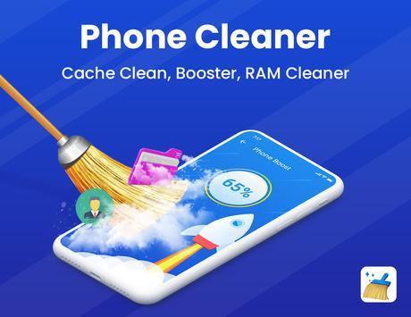 Telefon Temizleyici - Önbellek temizleyicisi Ekran Görüntüsü 10