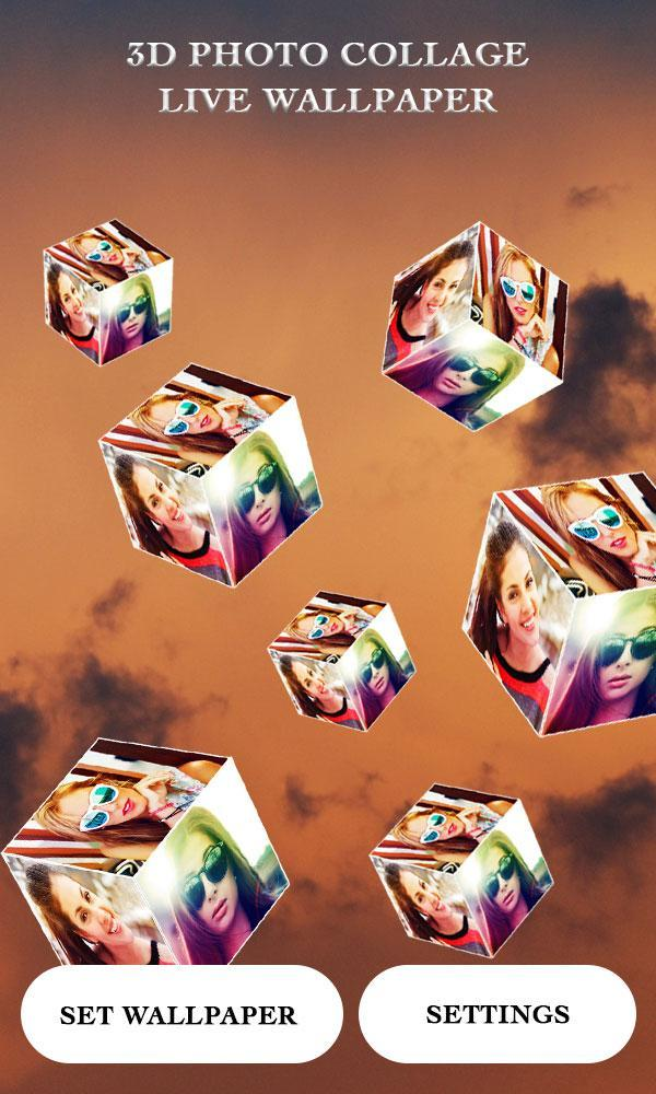 3D Photo Cube Live Wallpaper for Android - APK Download
